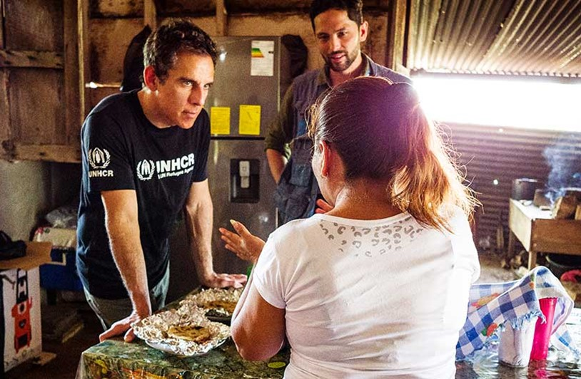 Ben Stiller calls for action and solidarity with refugees