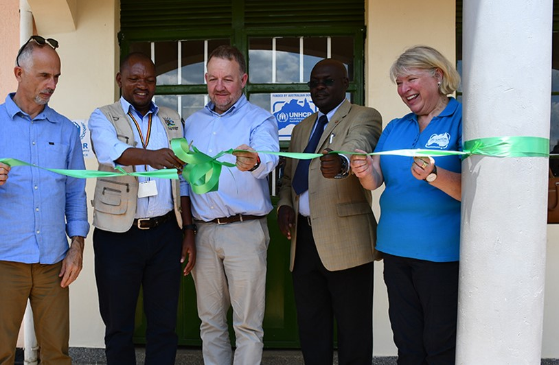 Vocational Training Centre opens in Uganda