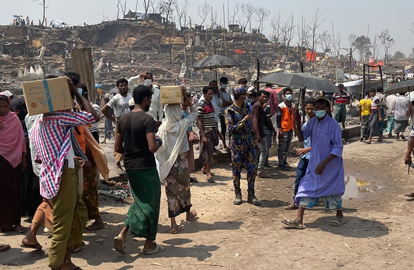 2021 EMERGENCY UPDATE: ROHINGYA REFUGEE CAMP FIRE
