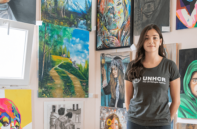 Youth with Refugees Art Contest