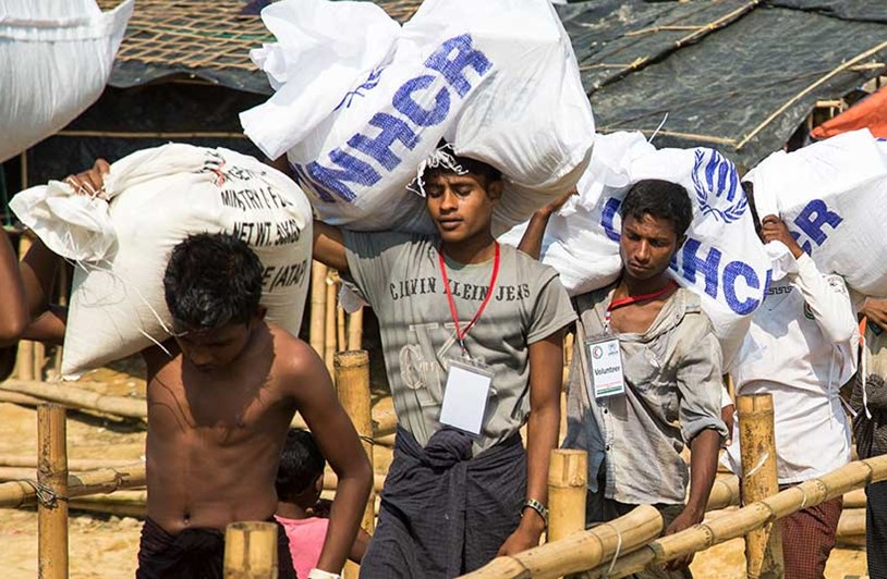 A year on from the Rohingya crisis