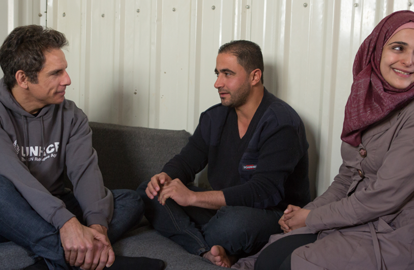 Mohammed, Alaa and Jamal Refugee story