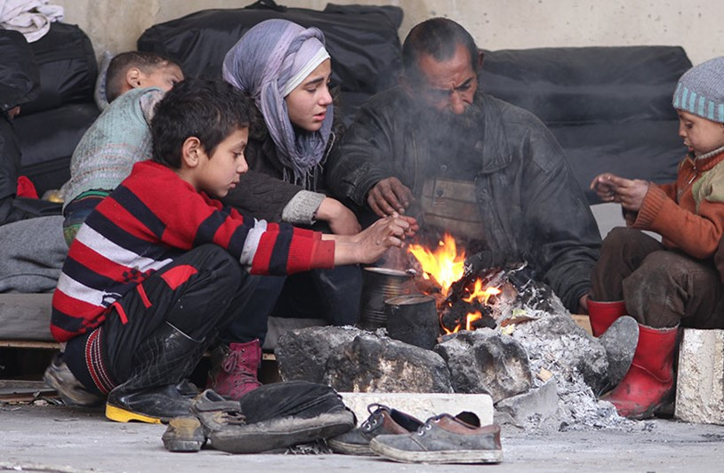 Syrian refugee families reach breaking point